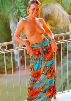 Sexy Randi Masturbate