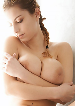 Busty Cathy Takes A Shower